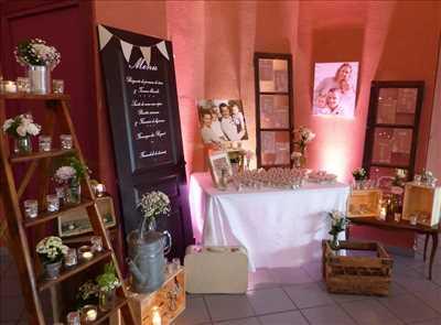Photo Décoration de mariage n°1246 à Nevers par ONE DAY DECO