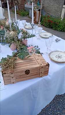 Photo Décoration de mariage n°1248 zone Haute Savoie par ONE DAY DECO